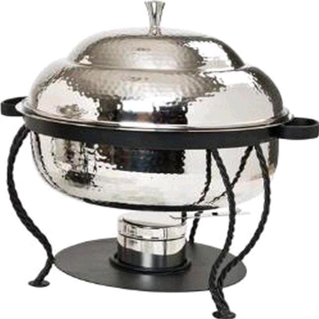 Where to find CHAFER 8 QT ROUND HAMMERED in Tupelo