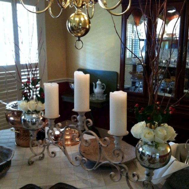 Where to find CANDELABRA, TABLETOP IRON IVORY in Tupelo