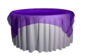 Rental store for PURPLE ORGANZA LINEN in Tupelo MS