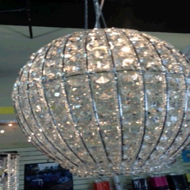 Where to find CHANDELIER BEADED PENDANT BALL in Tupelo