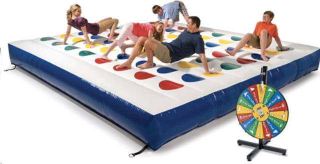 Where to find INFLATABLE, TWISTER GAME in Tupelo
