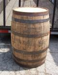 Rental store for BARREL WHISKEY FULL SIZE DARK WOOD in Tupelo MS