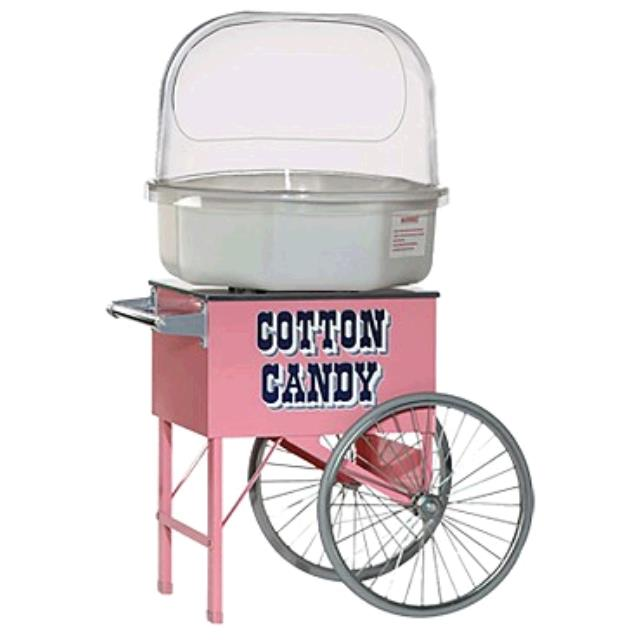 Where to find COTTON CANDY W CART in Tupelo