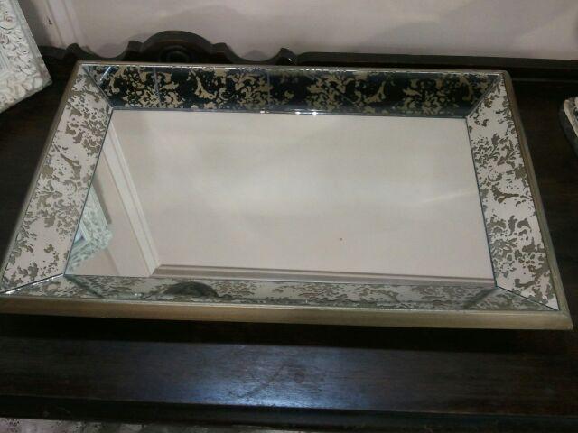 Tray mirror mercury glass Rentals Tupelo MS  Where to rent TRAY