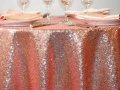 Rental store for CHAMPAGNE SEQUIN CHEVRON LINEN in Tupelo MS