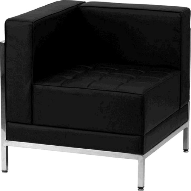 Where to find FURNITURE, LEFT CORNER CHAIR BLACK in Tupelo