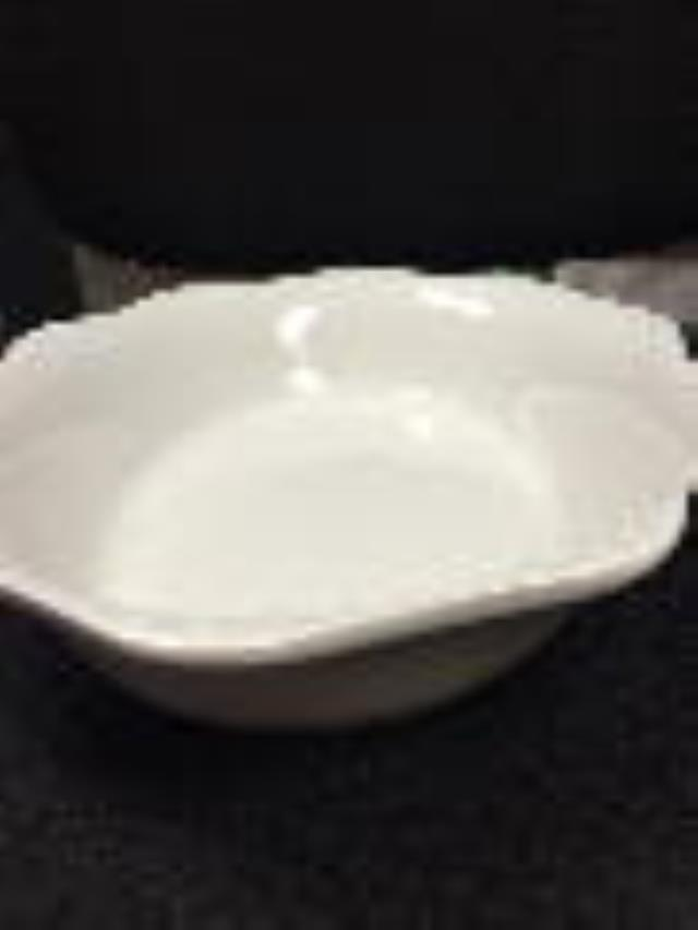 Where to find BOWL WHITE DOTTED 12  OVAL PORCELAIN in Tupelo