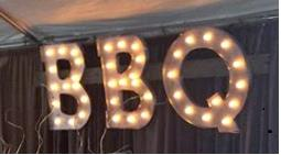 Where to find SIGN BBQ LIGHTED in Tupelo