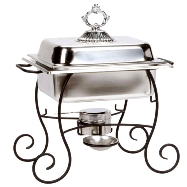 Where to find CHAFER 4 QT STAINLESS IRON STAND in Tupelo
