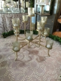 Rental store for CANDELABRA, GOLD TABLETOP VOTIVE in Tupelo MS
