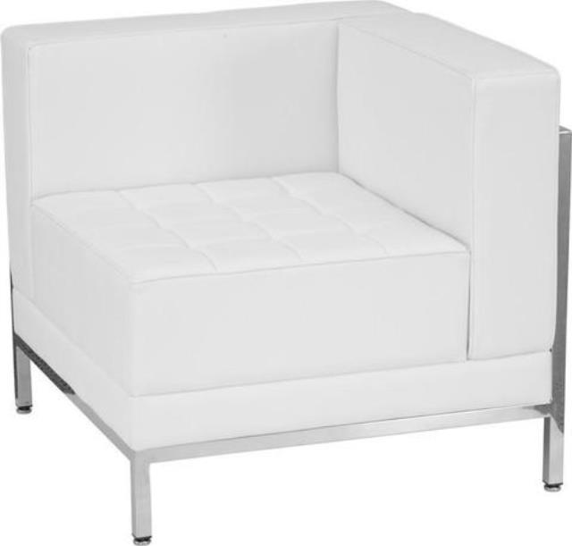 Where to find FURNITURE, RIGHT CORNER CHAIR WHITE in Tupelo
