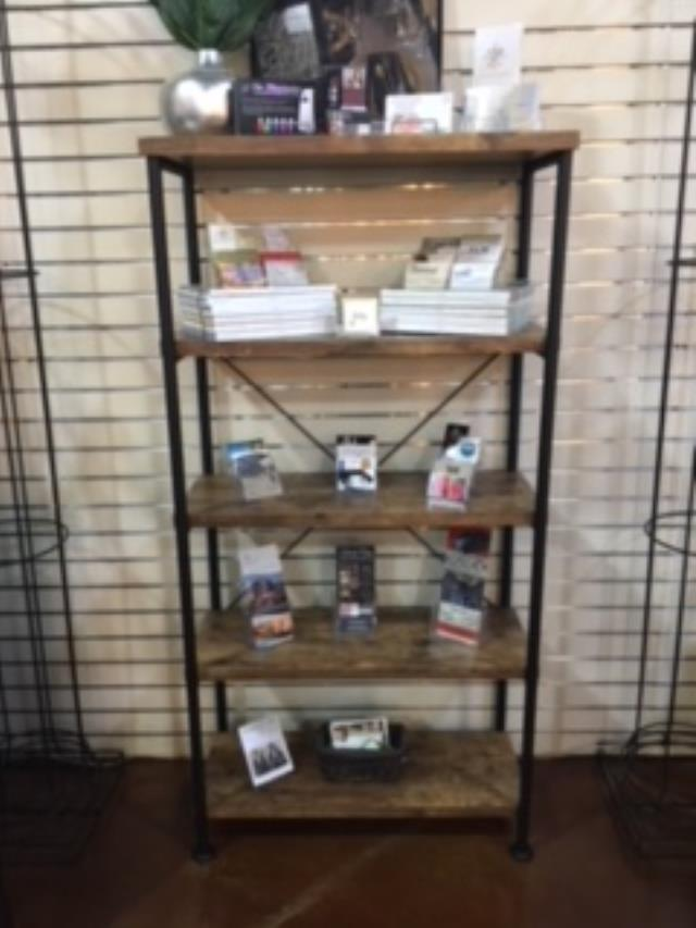 Where to find SHELF, INDUSTRIAL WOOD METAL in Tupelo