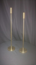 Rental store for CANDLE HOLDER, SINGLE GOLD SMALL in Tupelo MS
