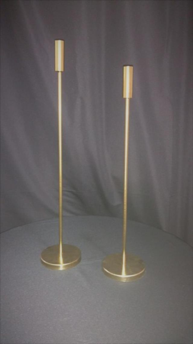 Where to find CANDLE HOLDER, SINGLE GOLD LG in Tupelo