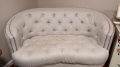 Rental store for FURNITURE, SETTEE GREY TUFTED in Tupelo MS
