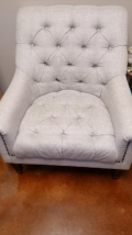 Rental store for FURNITURE, CHAIR GREY TUFTED in Tupelo MS