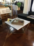 Rental store for TABLE, LOUNGE MARBLE GOLD in Tupelo MS
