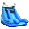 Rental store for INFLATABLE, DOLPHIN SUPER SPLASH W POOL in Tupelo MS