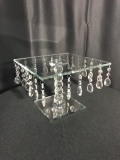 Rental store for CAKE STAND CRYSTAL PEDESTAL 11.81 in Tupelo MS