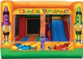 Rental store for INFLATABLE, 3-N-1 PLAYLAND in Tupelo MS