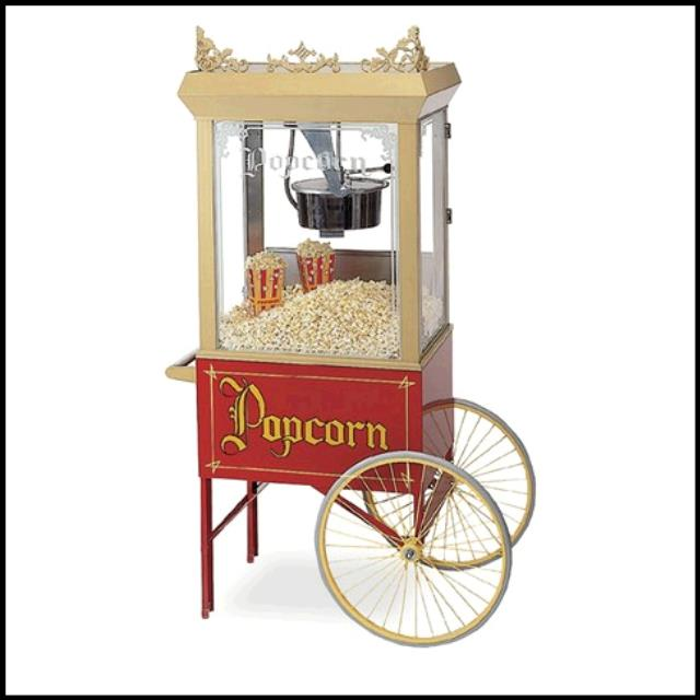 Where to find POPPER POPCORN CART in Tupelo