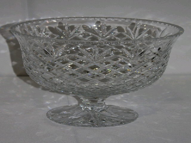 Where to find BOWL, PEDESTAL LEAD CRYSTAL in Tupelo
