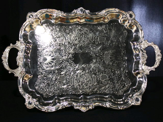 Where to find TRAY, SILVER 30X18 HANDLE in Tupelo