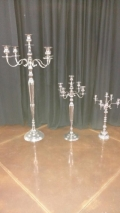 Rental store for CANDELABRA, SILVER 5 JUMBO in Tupelo MS
