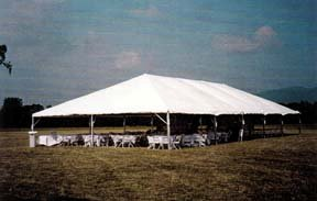 Where to find TENT 40 X 85 WHITE in Tupelo