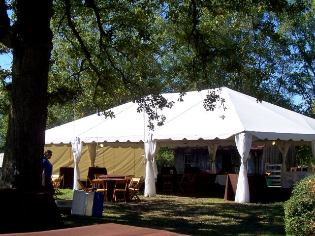 Where to find TENT 30 X 45 WHITE in Tupelo