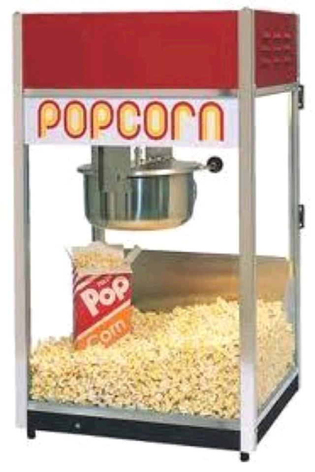 Where to find POPCORN POPPER, TABLETOP in Tupelo
