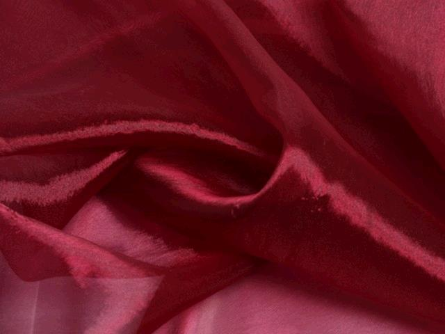 Where to find BURGUNDY ORGANZA LINEN in Tupelo