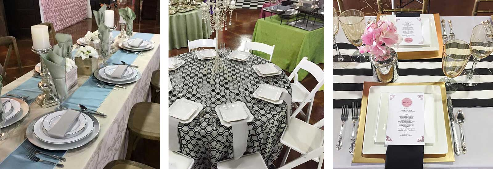 Party and Special Event Rentals in Northeast Mississippi and Western Alabama
